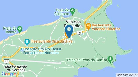 Pousada Maria Bonita Noronha Map