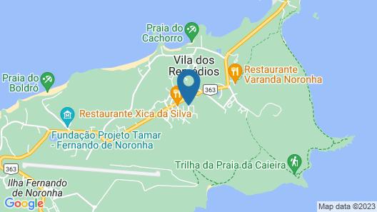 Pousada Fortaleza Map
