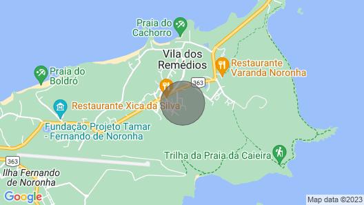 Suite Tripla Fernando DE Noronha Map