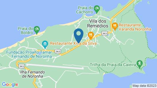 Pousada Morena Map