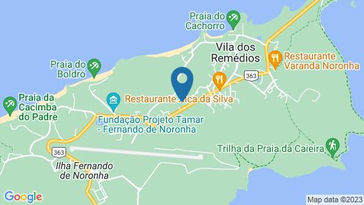 Pousada Zé Maria Map