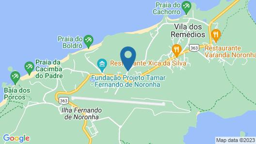 Teju-Açu Eco Pousada Map