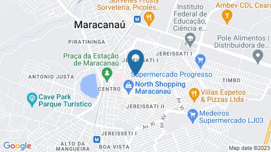 Hotel Pousada das Maracanãs Map