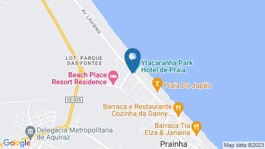 Beach Park Suites Resort Map