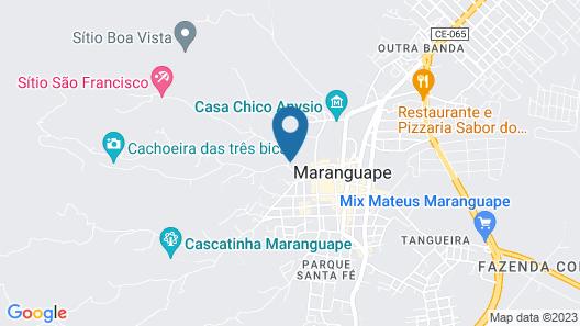 Pousada Pirapora Map