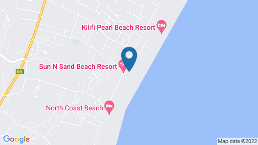 Sun N Sand Beach Resort Map