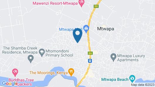 Garden Park Hotel Mtwapa Map