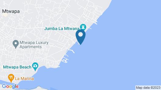Mtwapa Beach Villa Map