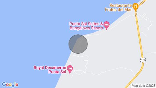 Casa-Capri Luxury Beach House Map