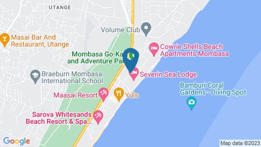 Neptune Beach Resort Map