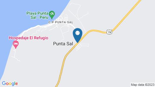 Royal Decameron Punta Sal - All Inclusive Map