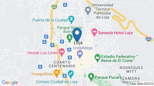 Hotel Libertador Map