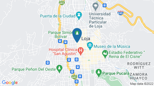 HOTEL PODOCARPUS Map
