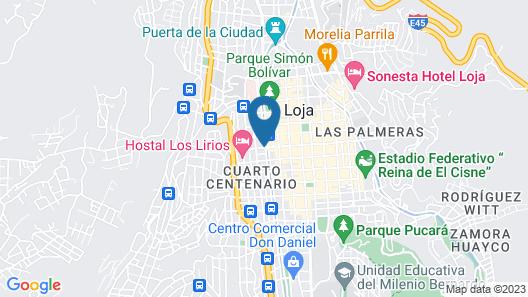 Grand Hotel Loja Map