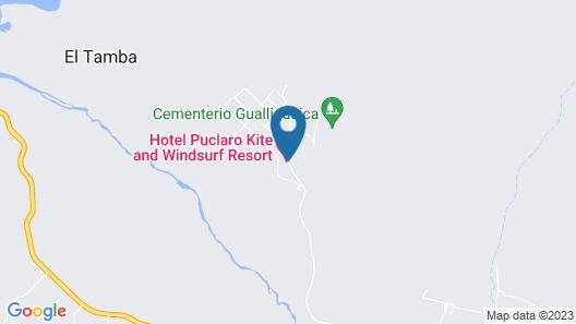Hotel Puclaro Map