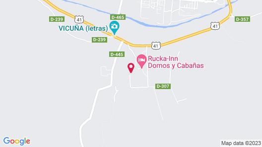 Cabañas La Villa Sueca Map