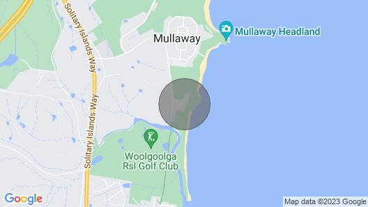Ocean View Lodge - Mullaway Map