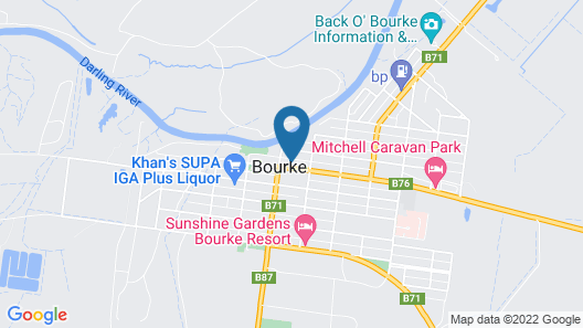 Bourke Apartments Map