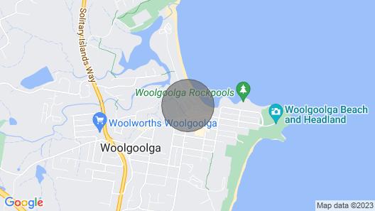 Aqua Vista  - Woolgoolga, NSW Map