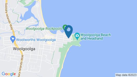 Due North Beach House Map