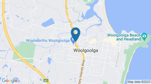 Rosebourne Gardens Motel Map