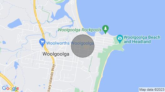 Nan's Place - Woolgoolga Map