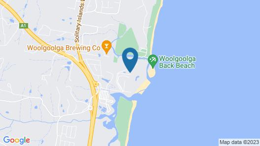 Tranquilo Beach House Map