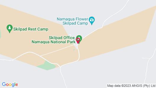Chiefs - Namaqua Flower Camps Map