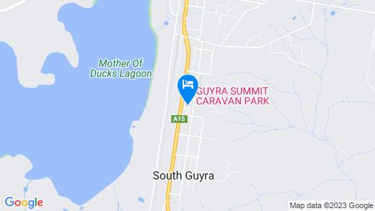 Guyra Summit Caravan Park Map