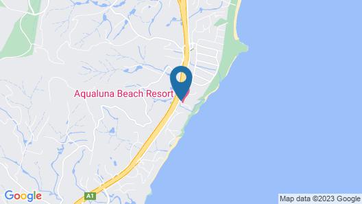 Aqualuna Beach Resort Map