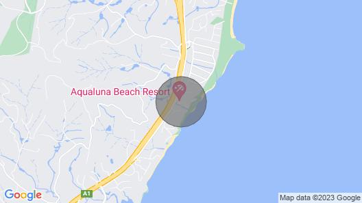 Aqualuna Beach Apartment 68 Map