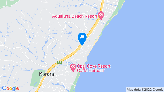 Nautilus Beachfront Villas & Spa Map