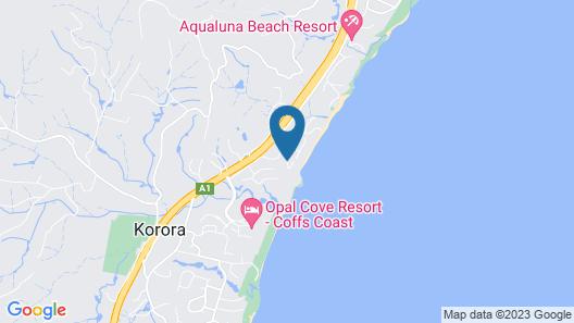 Liapari Beach House Map
