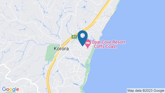 Opal Cove Resort Map