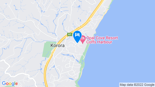 Opal Cove Resort Map