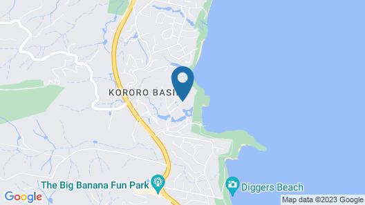 Club Wyndham Coffs Harbour Map