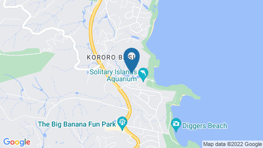 Pacific Bay Resort Map