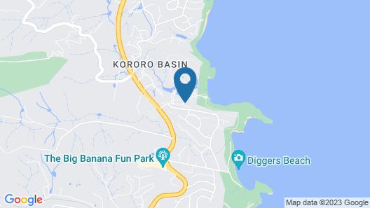 Charlesworth Bay Beach Resort Map