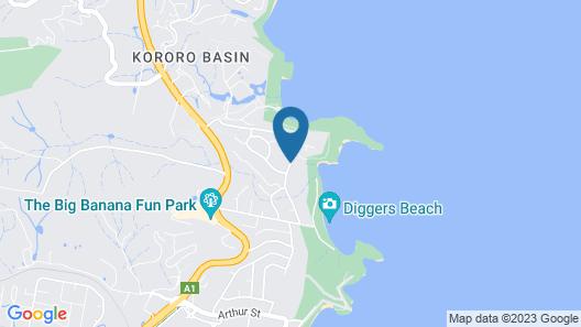 BreakFree Aanuka Beach Resort Map