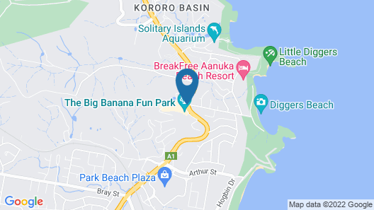 Country 2 Coast Coffs Harbour Motor Inn Map