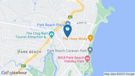Aqua Villa Resort Map