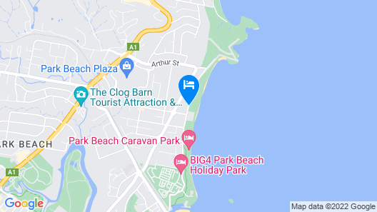 Beachpark Apartments Map