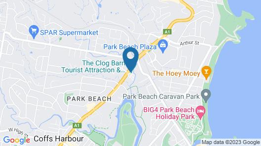 Clog Barn Caravan Park Map