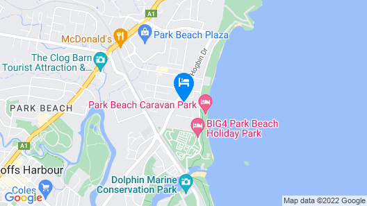 Dolphin Sands Holiday Villas Map
