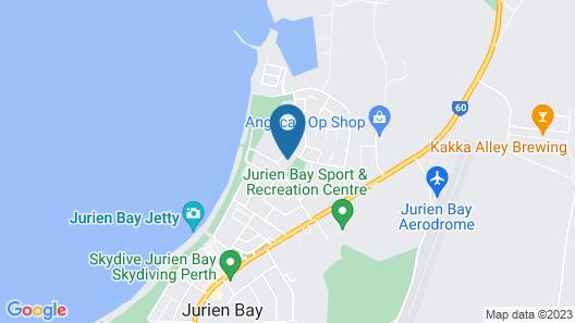 Ocean Beach Chalet 18 Map