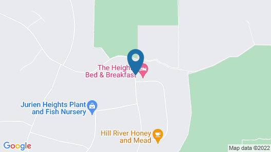 The Heights Bed & Breakfast Map