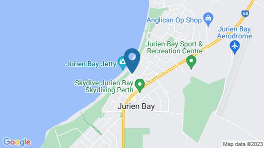 Jurien Bay Tourist Park Map