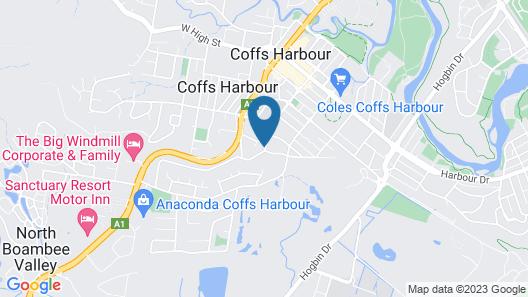 No. 1 Coffs Map