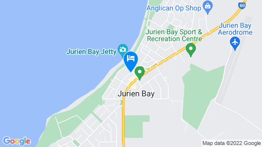 Jurien Bay Hotel/motel Map