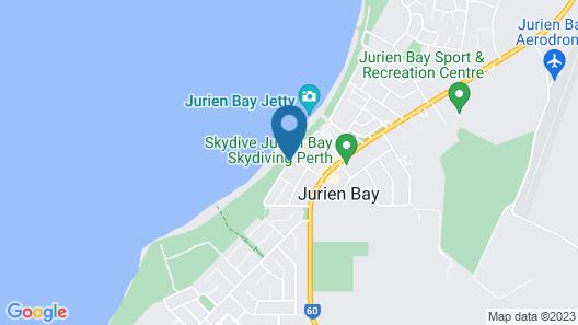 Jurien Beachfront Holiday Units Map